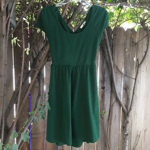 Ya Los Angeles criss cross back dress